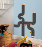 Build-A-Road Peel & Stick Wall Decals