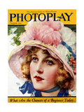 1920s USA Photoplay Magazine Cover
