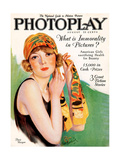 1920s UK Photoplay Magazine Cover