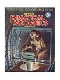 1940s UK Practical Mechanics Magazine Cover