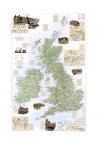 2000 A Traveler's Map of Britain and Ireland