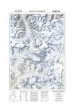 1999 Mount Everest/Himalayas Map