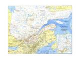 1991 Quebec Map