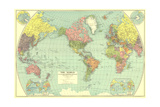 1932 World Map