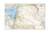 2003 Iraq and the Heart of the Middle East Map