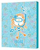 Girl-Snorkeling!