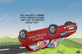 Driving School - Accident