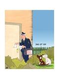 Bissiger Postbote