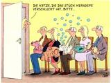 Seifenblasenkatze