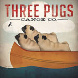 Three Pugs in a Canoe v3