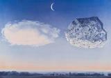 La Bataille de L'Argonne Reproduction d'art par Rene Magritte
