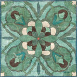 Tuscan Tile Blue Green I