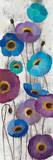 Bold Anemones Panel II