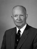 Digitally Restored American History Photo of President Dwight Eisenhower