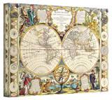 Samuel Dunn 'Mappe-Monde Carte Universelle de la Terre Dressee'