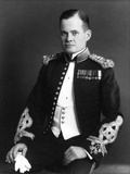 Digitally Restored Photo of Lewis Chesty Puller as a Young Captain