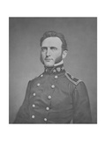 Digitally Restored Print of Thomas Stonewall Jackson as a Young Officer