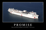 Promise: Inspirational Quote and Motivational Poster
