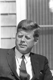 Digitally Restored Photo of President John F Kennedy