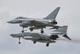 Eurofighter Typhoon and its Precedessor  the F-4F Phantom