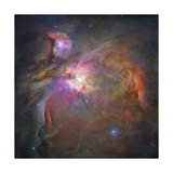 Artist's Painting of the Orion Nebula  also known as M42 or NGC 1976