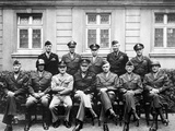 World War II Photo of the Senior American Military Commanders of the European Theater