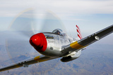 A P-51D Mustang in Flight Near Prescott  Arizona