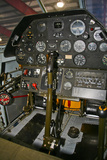 Cockpit of a P-40E Warhawk