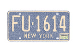 New York Vintage Auto Plate