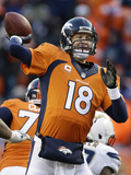 NFL Playoffs 2014: Jan 12  2014 - Broncos vs Chargers - Peyton Manning