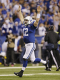NFL Playoffs 2014: Jan 4  2014 - Colts vs Chiefs - Andrew Luck