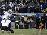 NFL Playoffs 2014: Jan 4  2014 - Eagles vs Saints - Shayne Graham