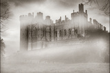 Warwick Castle in the Fog