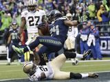 NFL Playoffs 2014: Jan 11  2014 - Saints vs Seahawks - Marshawn Lynch