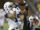 NFL Playoffs 2014: Jan 11  2014 - Colts vs Patriots - LaVon Brazill