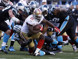 NFL Playoffs 2014: Jan 12  2014 - 49ers vs Panthers - Frank Gore