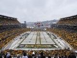 Heinz Field in the Snow