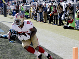 NFL Playoffs 2014: Jan 12  2014 - 49ers vs Panthers - Vernon Davis