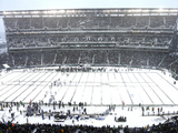 Snow Covered Lincoln Financial Field