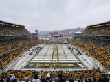 Heinz Field with Snow
