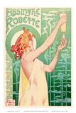 Absinthe Robette - Art Nouveau Nude Belgian