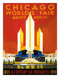 Chicago World's Fair - A Century of Progress  1833-1933