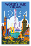 World's Fair Chicago 1934 - Tour the World at the Fair