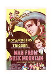 Man from Music Mountain