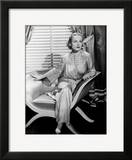 Portrait of Carole Lombard Sitting  1930's
