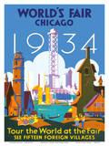 World's Fair Chicago 1934 - Tour the World at the Fair