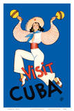 Visit Cuba - Native Cuban Dancer with Maracas