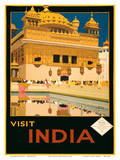 Visit India - The Golden Temple (Harmandir Sahib) - Amritsar  Punjab