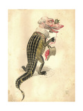 Alligator 1873 'Missing Links' Parade Costume Design