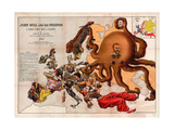 Satirical Map - John Bull and His Friends a Serio-Comic Map of Europe